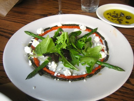 insalata di asparagi