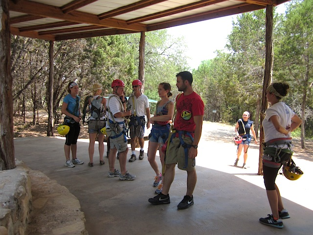 Everyone ... & Cypress Valley Canopy Tours - Way Out West Austin