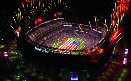 metlife stadium in the meadowlands, new jersey