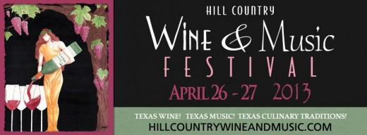 Hill Country Wine & Music Fest poster