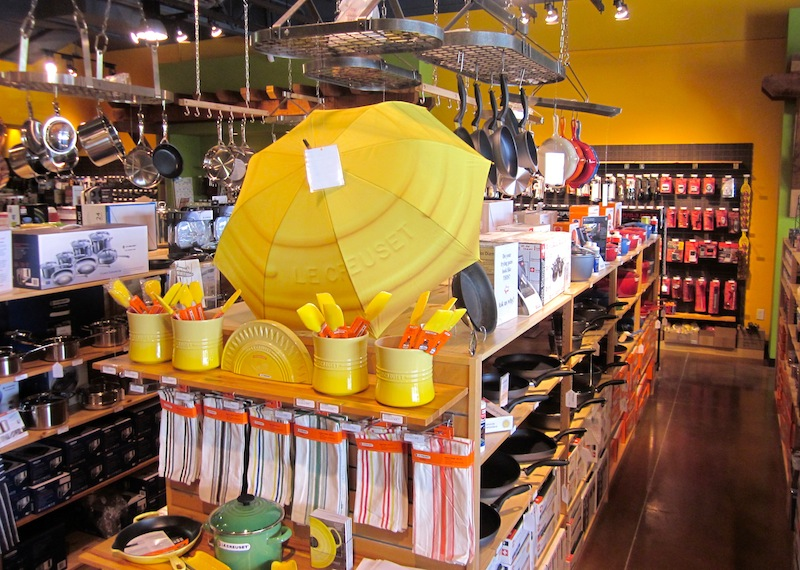 Le Creuset Display At The New Faradayu0027s Kitchen Store In Bee Cave, TX