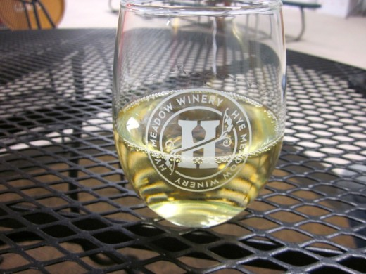 viognier made from Texas grapes at the new Hye Meadow Winery in Hye, Texas