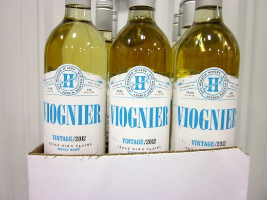 the Texas-made viognier at the new Hye Meadow Winery in Hye, Texas