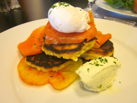 brunch special at Plate by Dzintra in Bee Cave, Texas