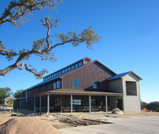 The new Twisted X brewery in Dripping Springs, Texas