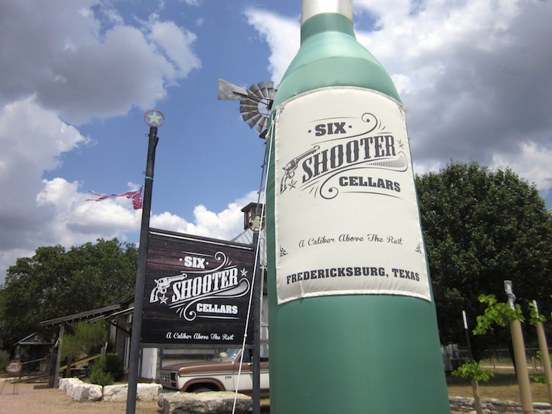 Six Shooter Cellars Way Out West Austin Way Out West