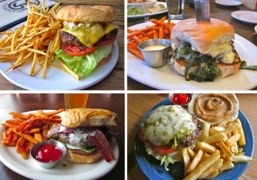 a list of the best burgers out west of Austin, Texas