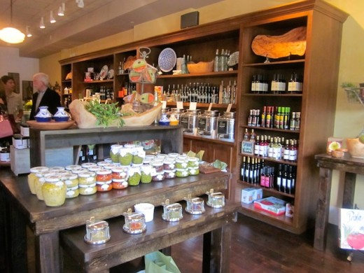 Gourmet goodies at the new We olive & wine bar at the Hill Country Galleria in Bee Cave, Texas