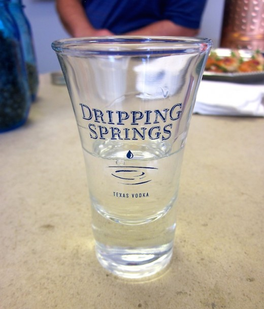 New Tasting Room at Dripping Springs Vodka