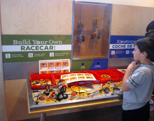 build your own racecar at the new Hill Country Science Mill in Johnson City, TX