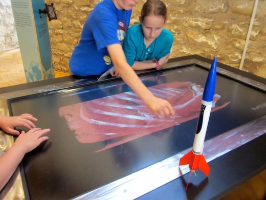 virtual autopsy at the new Hill Country Science Mill in Johnson City, TX