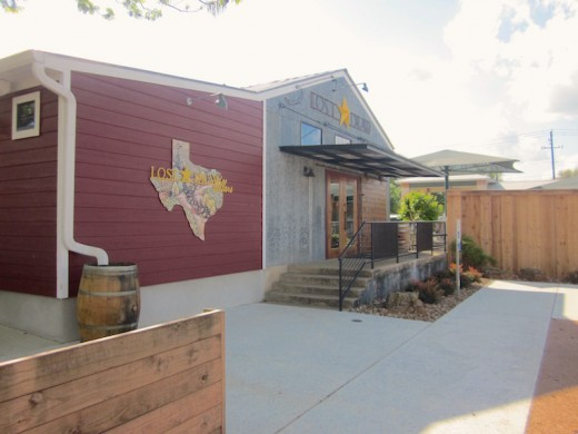 the new winery Lost Draw Cellars in Fredericksburg, Texas